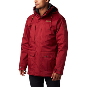 Columbia Horizons Pine Interchange Jacket Herren red jasper